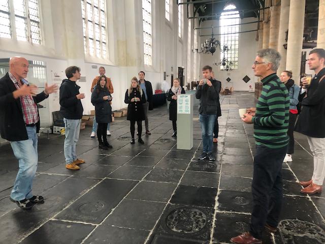 Utrechtse studenten op bezoek