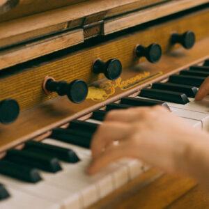 Orgel toetsen