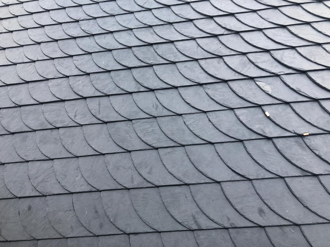 Het dak is af, voorlopig dan…