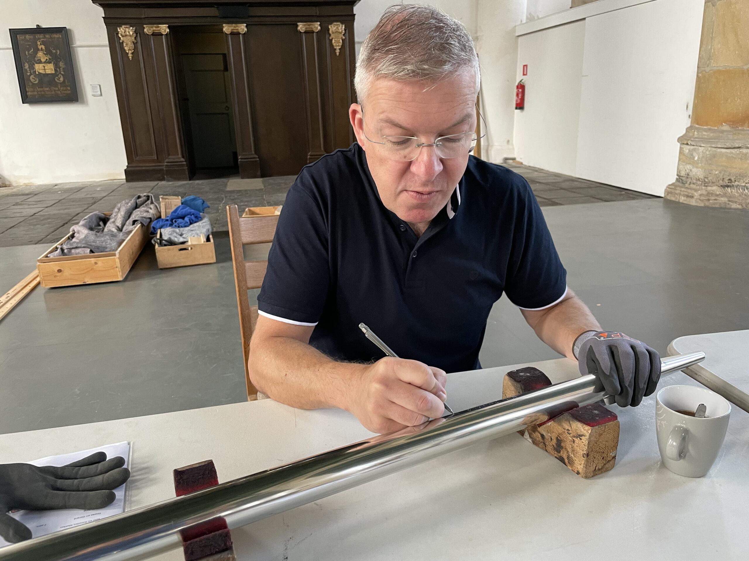 12 september: een nieuwe kans om een orgelpijp te laten graveren