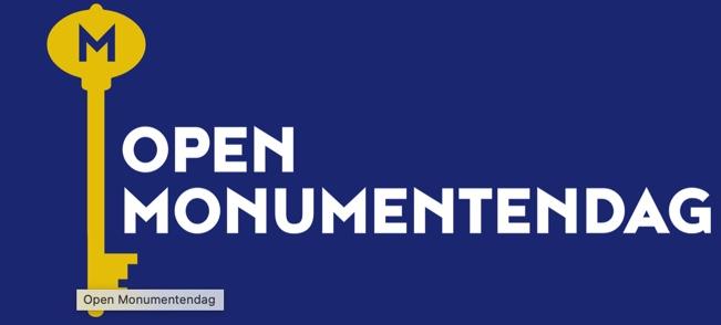 Open Monumentendag, 11 en 12 september